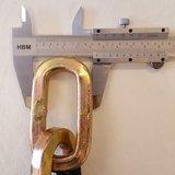 Top Lock Kettingslot ART4 met los hangslot - 150 cm_