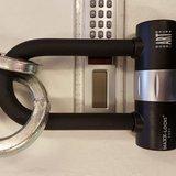 Kettingslot ART4 Maxx-Locks Tirau met loop + verlengde U-beugel - 120 cm_