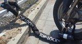Top Lock kettingslot ART4 120cm loop + verlengde U-beugel
