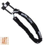 Kettingslot ART4 150cm met loop + verlengde U-beugel van Maxx-Locks
