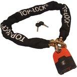 Top Lock Kettingslot ART 4 met los hangslot - 120 cm