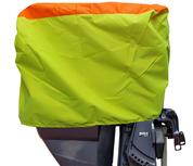 Buitenboordmotorhoes - 55x35x40cm - Tot 50PK - Geel / Oranje