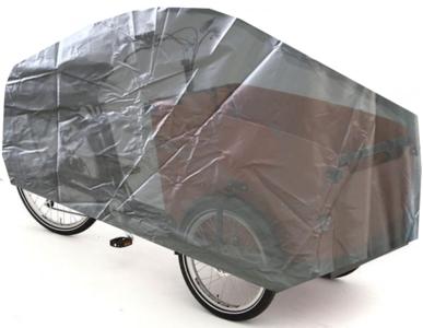 Bakfietshoes Cargo Fiets met 3 Wielen - Zilver